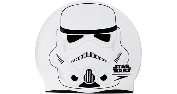 speedo Stormtrooper Slogan Lapset uimalakki , valkoinen/musta